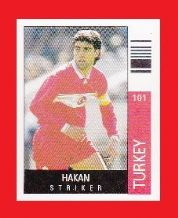 Turkey Hakan Sukur Galatasaray